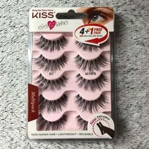 KISS EVER EZ LASH Multipack #01 - 5 Pair